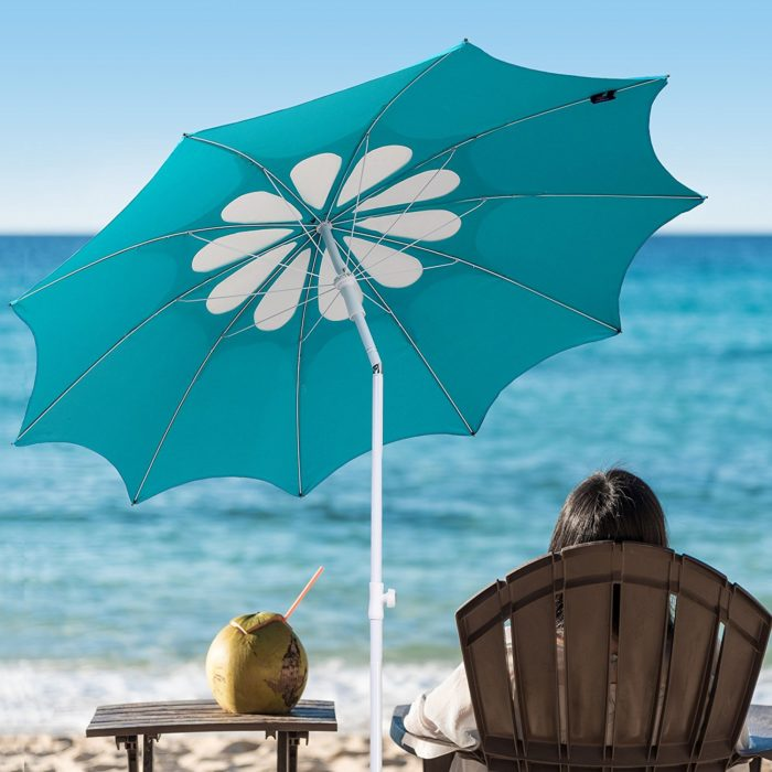 The Best Beach Umbrella For Wind Keep Covered On Windy Days