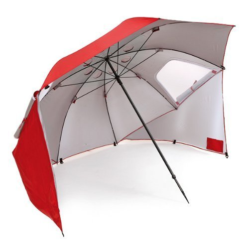 Sport-Brella Portable All-Weather and Sun Umbrella. 8-Foot Canopy - Best Beach Canopy for Wind Protection