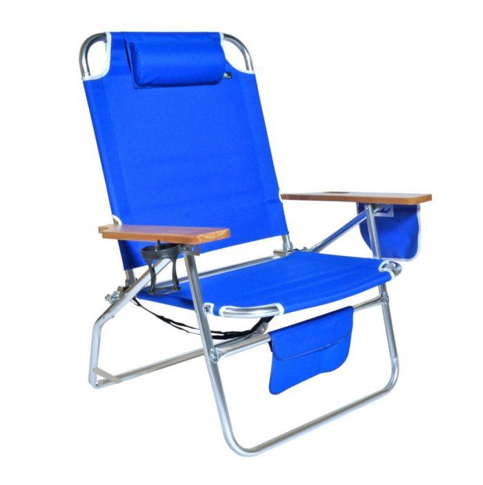 Big Jumbo Heavy Duty 500 lbs XL Aluminum Beach Chair for Big & Tall - The best beach chair