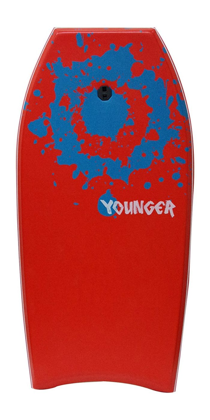 Younger 41 inch Super Bodyboard with IXPE deck, Perfect surfing - Best boogie board