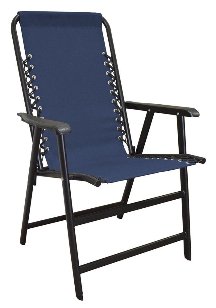 Caravan Sports Suspension Folding Chair - Grey - The best beach chair