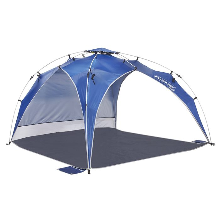 Lightspeed Outdoors Quick Canopy Instant Pop Up Shade Tent - Best Beach Canopy for Wind Protection