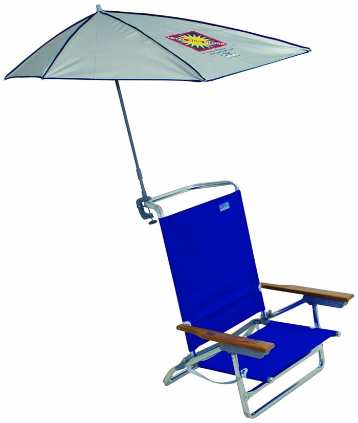 My Shade Total Sun Block Clamp-On Beach Umbrella - The Best Beach Umbrella