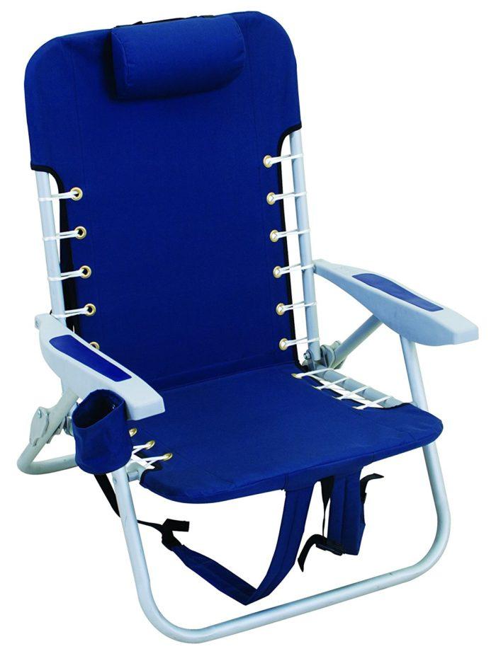 Rio Beach Lace-Up Suspension Folding Backpack Beach Chair - The best beach chair
