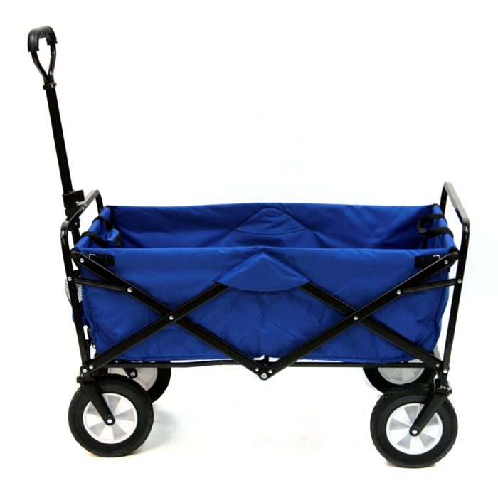 Mac Sports Collapsible Folding Outdoor Utility Wagon - Best Beach Cart