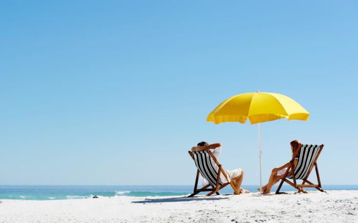 The best beach lounge chair