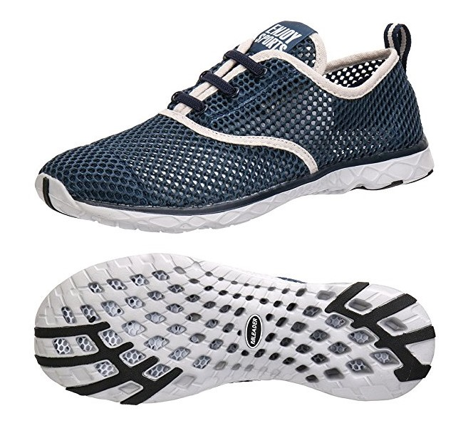 ALEADER Men's Quick Drying Aqua Water Shoes - CIOR Quick-Dry Water Shoes